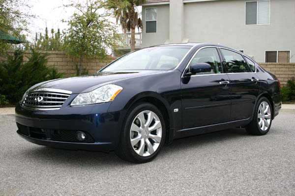 2006 infiniti m45 in twilight blue with graphite leather and rosewood trim msrp 54 510. Black Bedroom Furniture Sets. Home Design Ideas